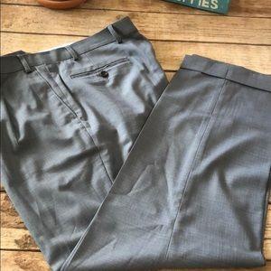 Ralph Lauren dress slacks gray cuffed and pleated